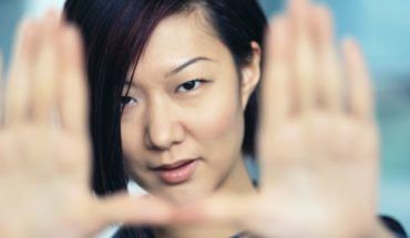 woman-making-hand-gestures