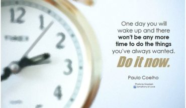 Do It Now Quote