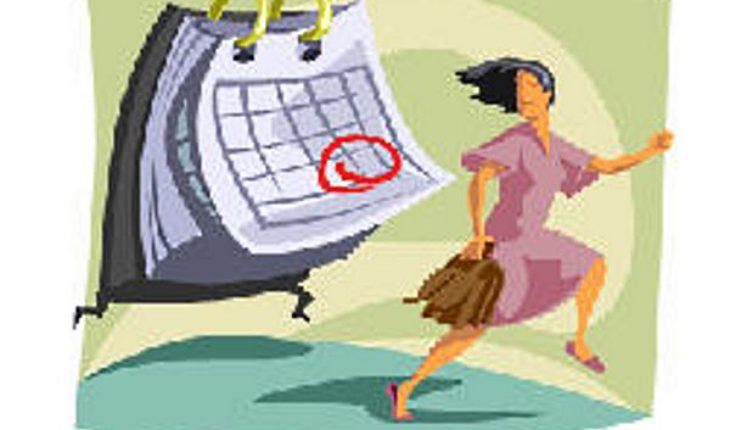 running-from-calendar