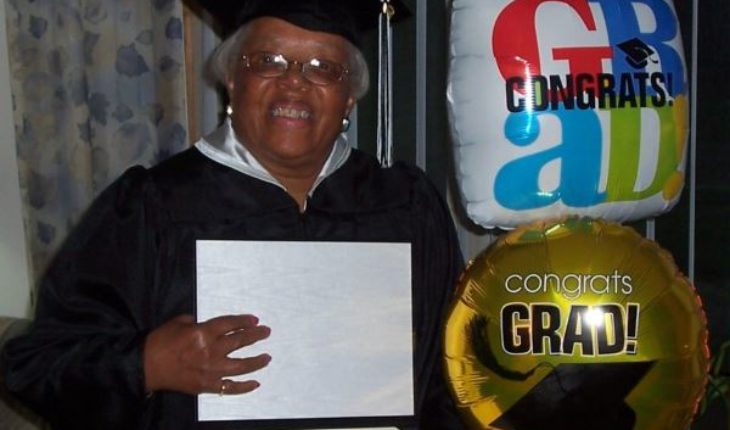 M Brady Graduated From College at Age 79