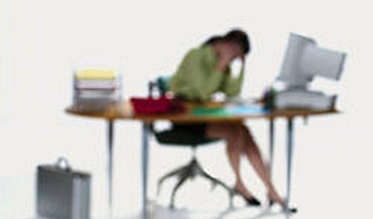 Tired hard Working Woman