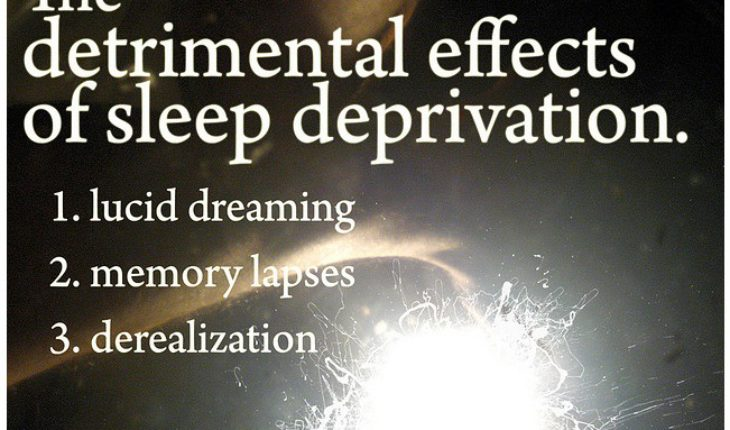 Image of A sleep deprivation diagram