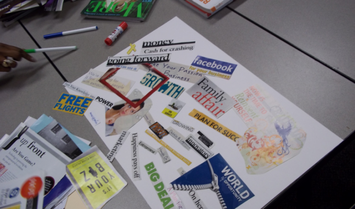 Image of a Vision board