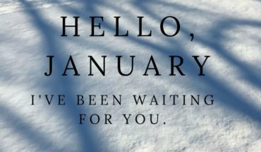 Hello January It's a New Year