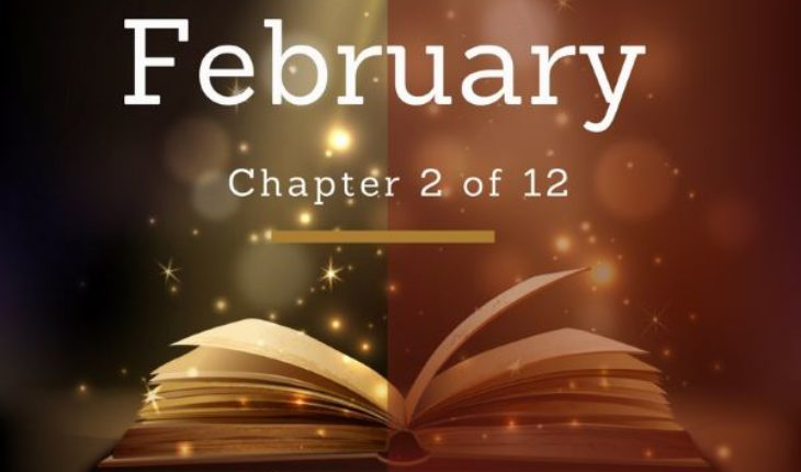 February Chapter 2 of 12 - Image of Beautiful Book